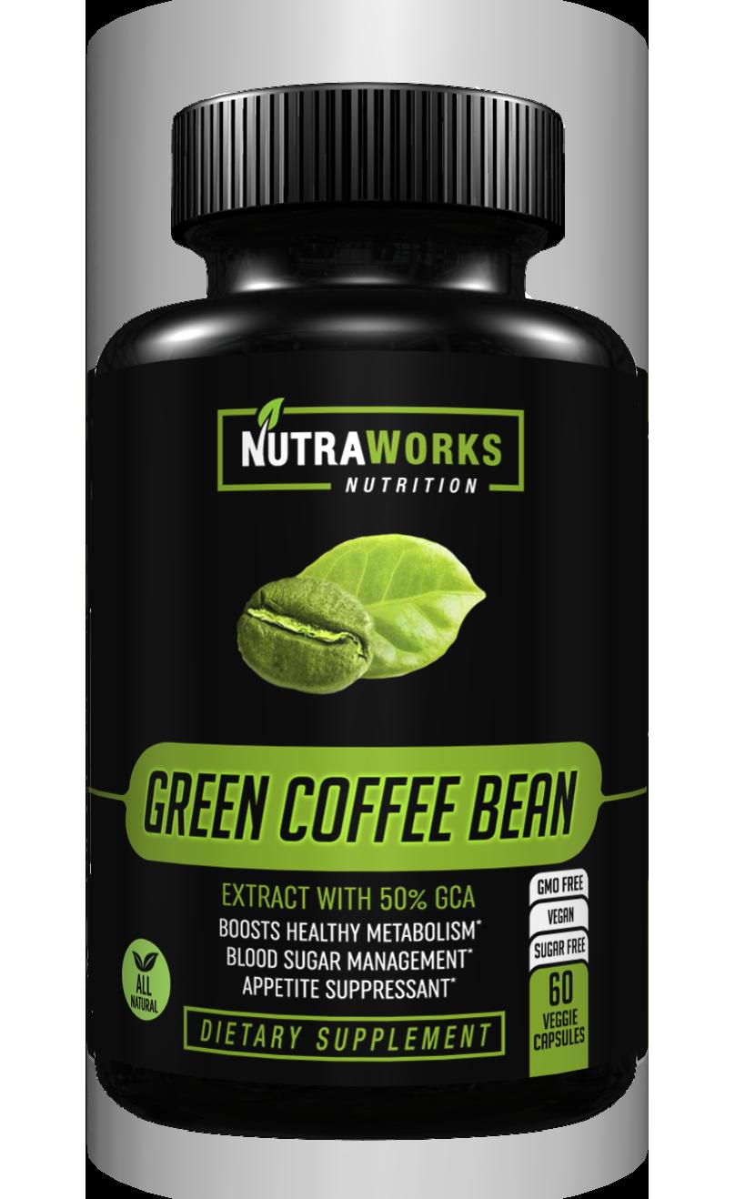 GREEN COFFEE BEAN Coffee nutrition, Green coffee bean