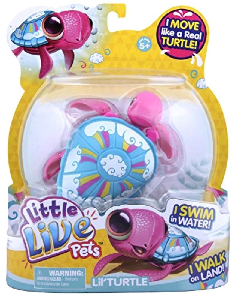 Little Live Pets 28181 S3 Turtle Single Pack Toy New Free Shipping