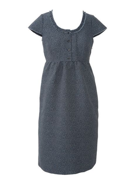 Looks Super Comfy - Empire Wasit Dress with Pockets - 135_0913_b_dress_large