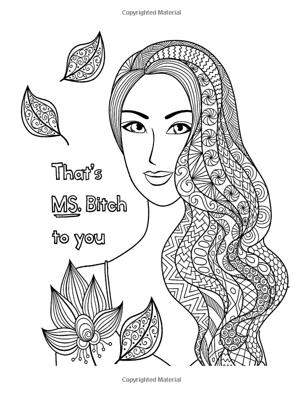 Chill The F Ck Out An Irreverent Adult Coloring Book Irreverent