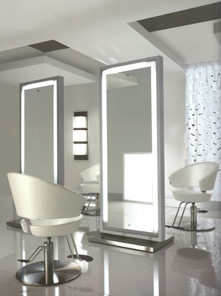 Lit Mirrors Trending Home Decor Salon Mirrors Beauty Salon