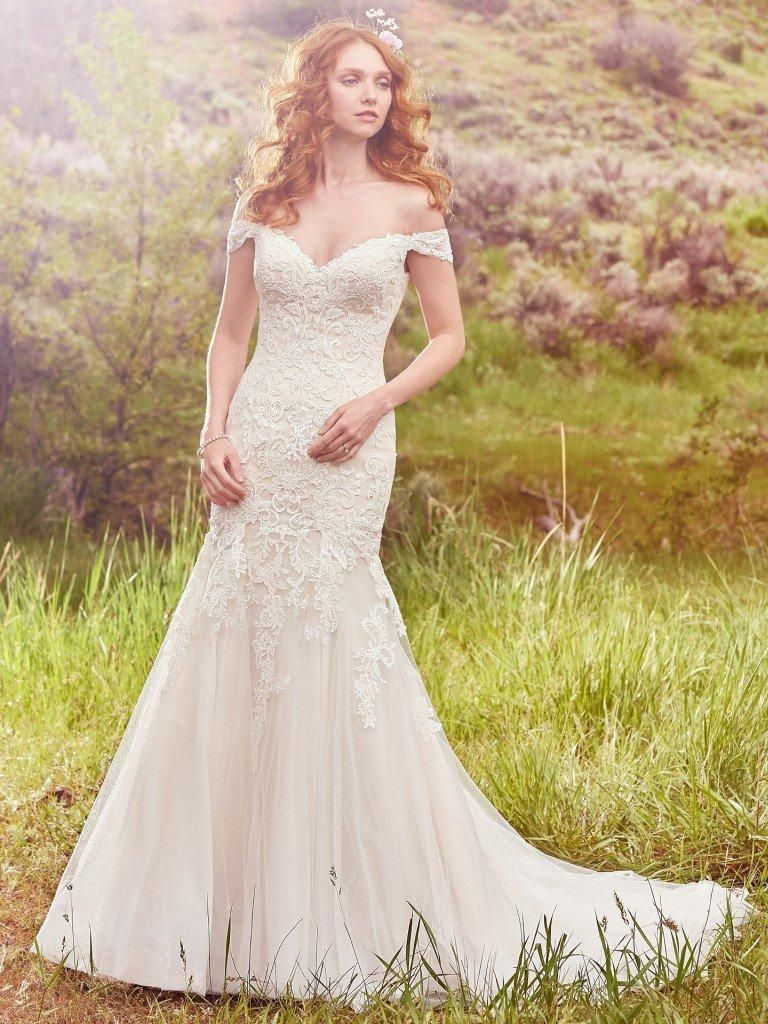 Dreaming about wearing a wedding dress  Ivory Light Gold Afton Wedding Dress  Wedding Dreams  Audra and