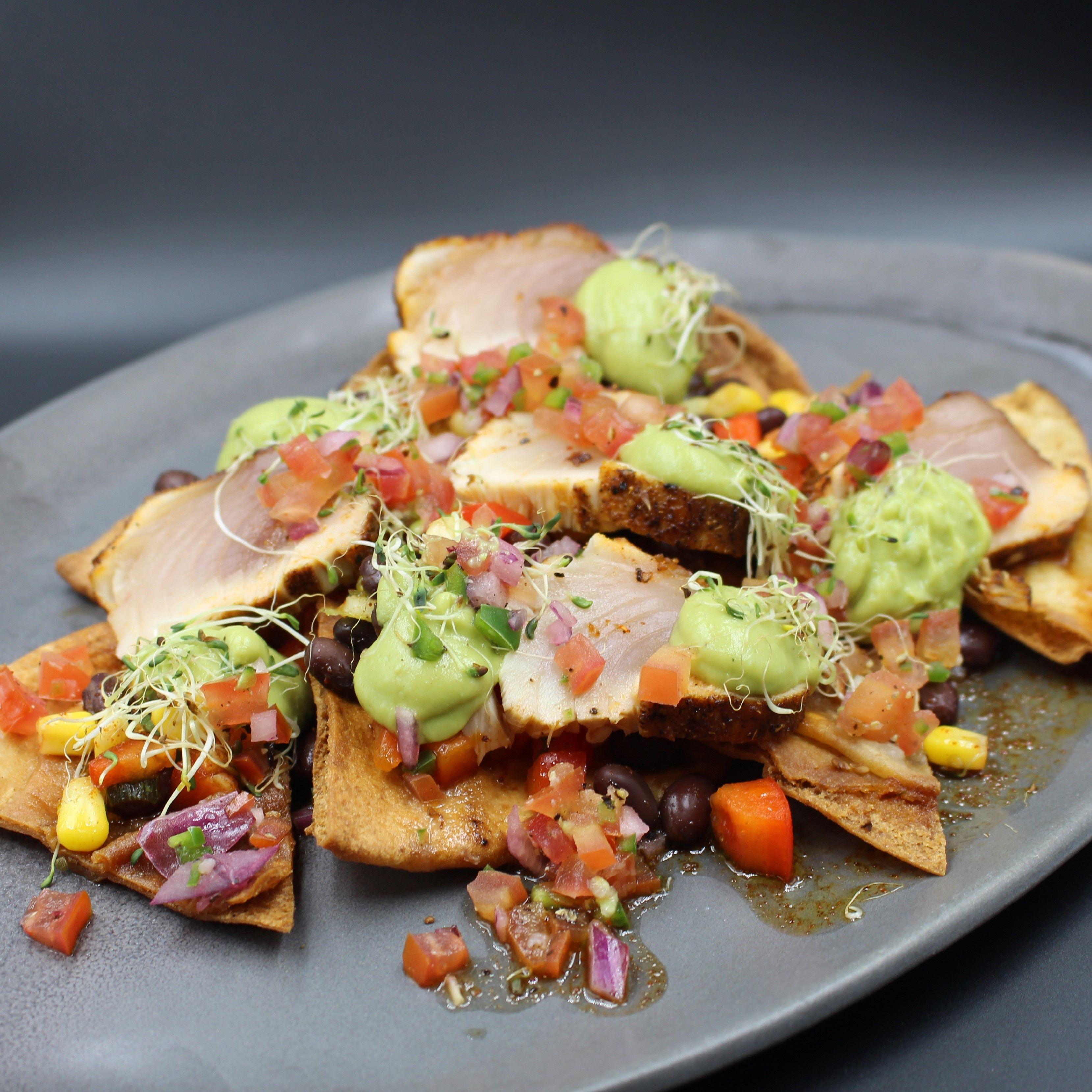 Albacore tuna nachos seafood recipes sustainable