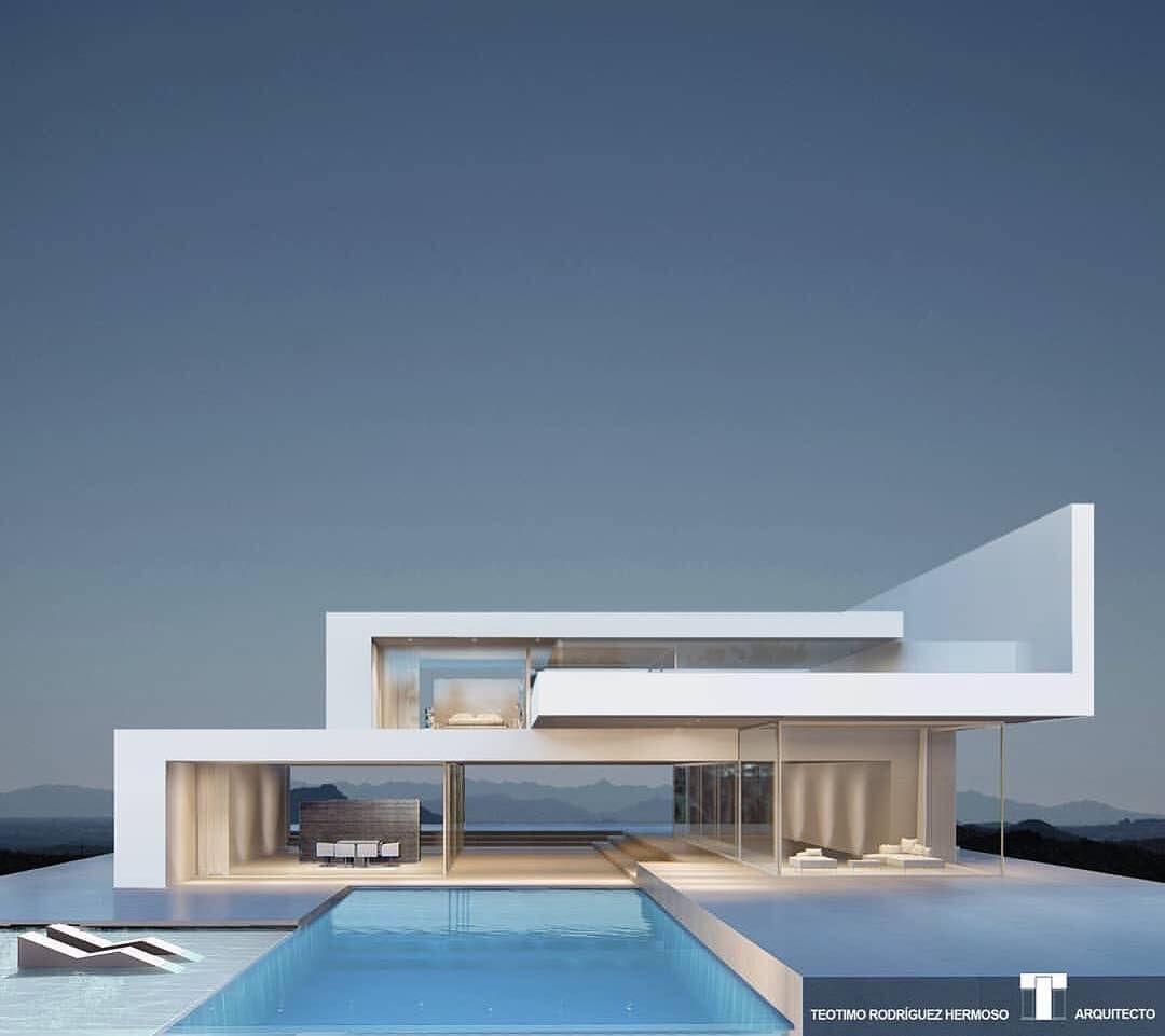 Luxury Villa Designed By Arthectonica Teotimo Architect Tenerife Canary Islands Spain Luxury Villa Design Minimalist Architecture Architecture Design