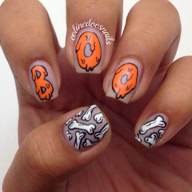 halloween by celinedoesnails #nail #nails #nailart Nail Design - halloween design