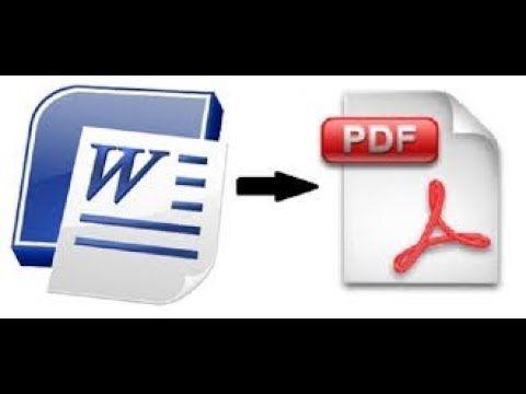 How To Convert Word To Pdf Pdf Programming Tutorial Web Design Tutorials