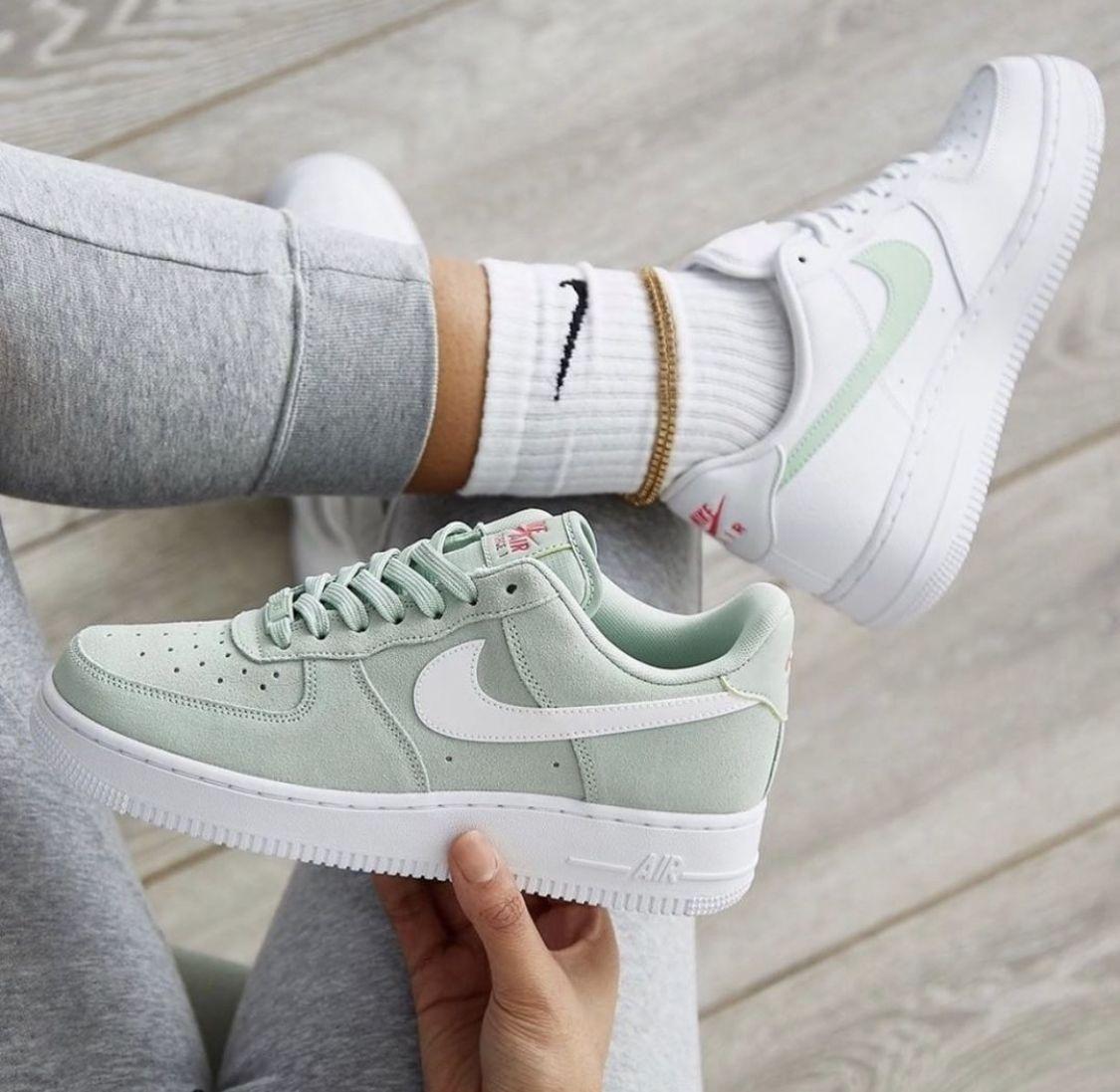 Pin von Lea auf Sneaker !!! in 2020   Air force, Minze