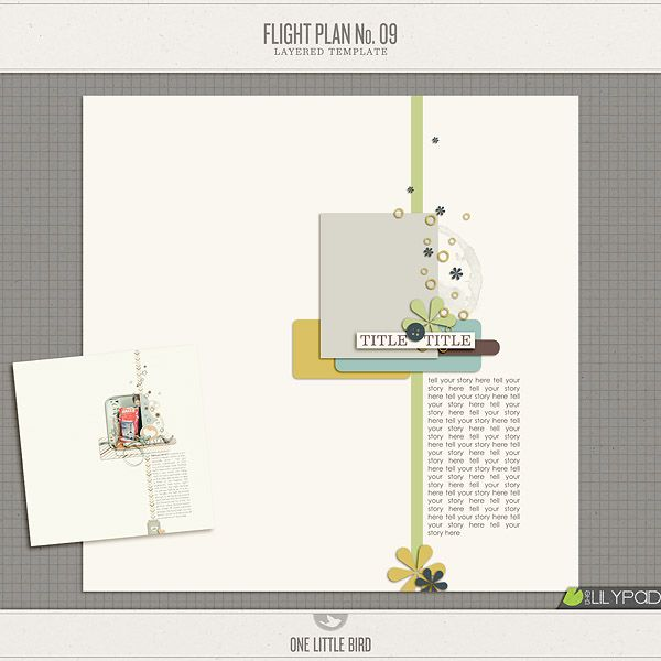 Flight Plan No 9 - One Little Bird Scrap Products Pinterest - flight plan template
