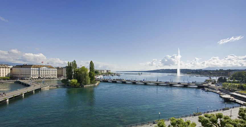 Lake Geneva Hotel Versoix Switzerland Booking Panache Bergues Facing The Iconic Jet D Eau