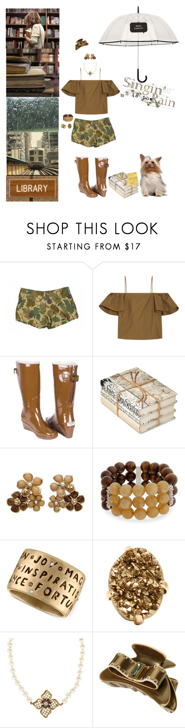 """""""Rainy Day Reads"""" by blackmagicmomma ❤ liked on Polyvore featuring NIKE, Fendi, Forever, Kate Spade, GO Home Ltd., Chanel, Erica Lyons, Rachel Rachel Roy and L. Erickson"""