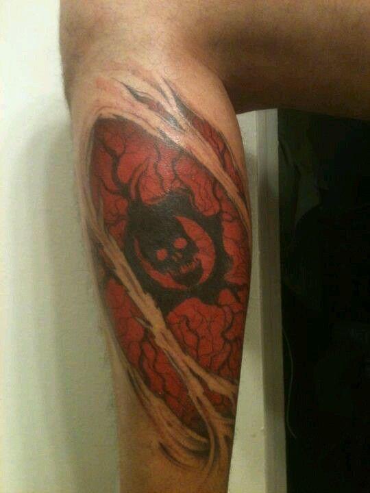 Gears of War Tattoo. Nasty. | Gaming | Pinterest | War tattoo ...
