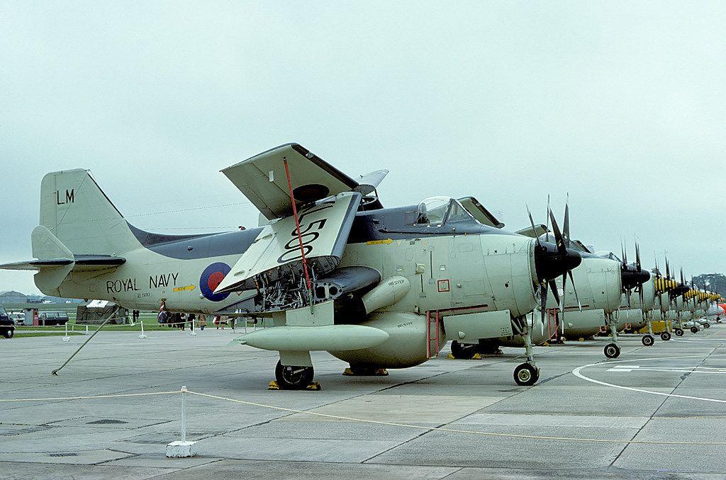XL500\LM AEW.3 849 Naval Air Squadron, RNAS