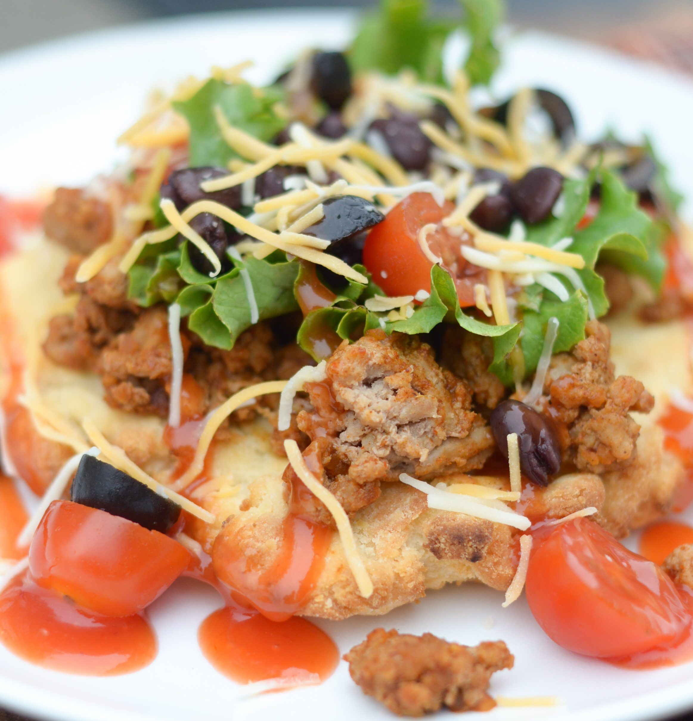 Gluten free air fryer indian tacos recipe indian tacos
