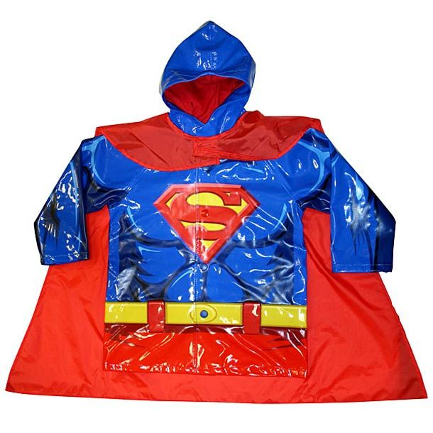 Superman raincoat from designyoutrust.com | family | Pinterest ...