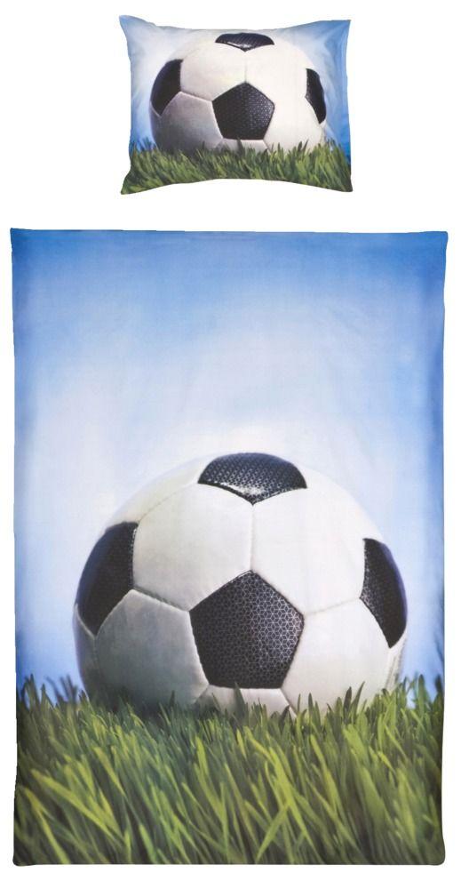Dekbedovertrek Voetbal - Slaapkamer Sil | Pinterest - Voetbal ...