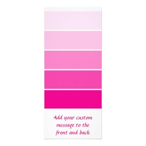 Bright Pink Paint Samples