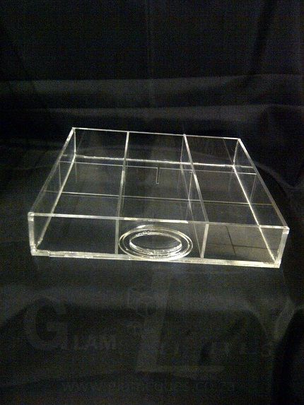 DD002-2'' Deep with an option of 6 or 8 grid/compartments