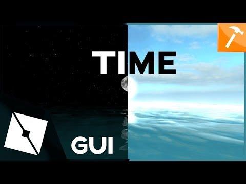 How To Make A Open Close Gui Roblox Studio Tutorial 2019 Roblox Tutorial Making Server Time Gui Youtube Roblox Tutorial Server