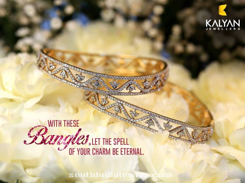 Classic Diamond Bangles from Kalyan Jewellers\' - http ...