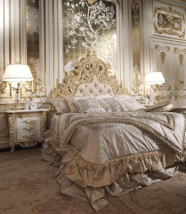 Luxury Classic Italian Bedroom Set The highest quality of each of - Italian Bedroom Sets