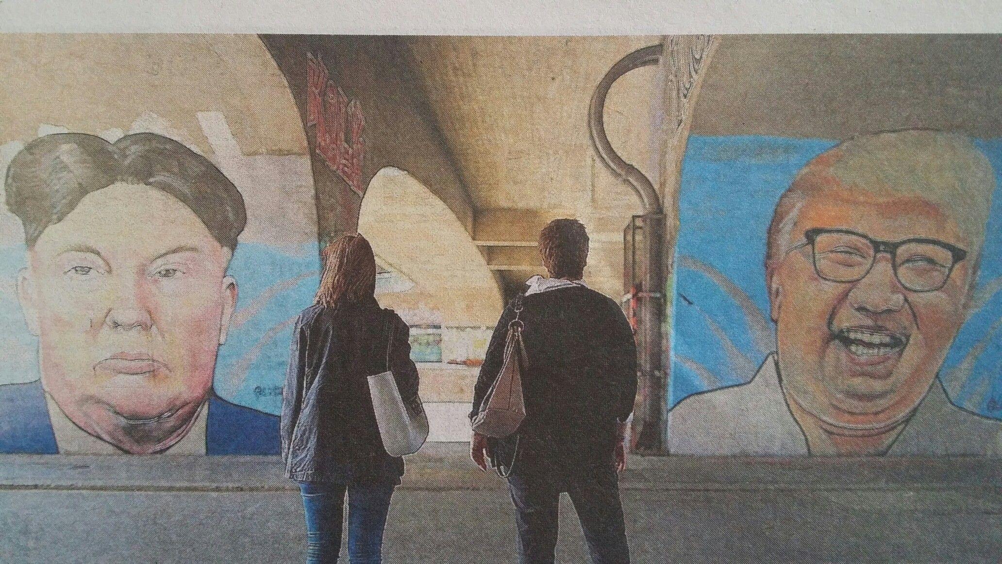 Mural Harbor Die Linz Ag Hafengalerie
