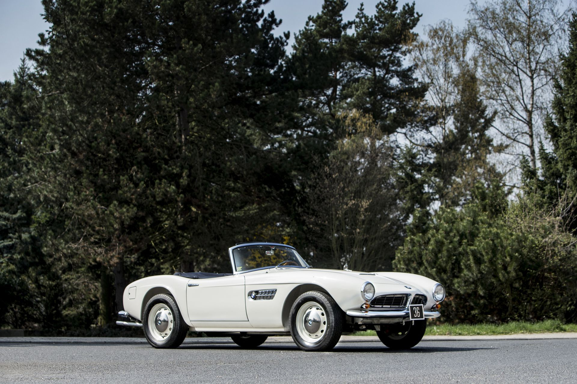 this bmw 507 roadster belonged to the last king of greece | bmw, top