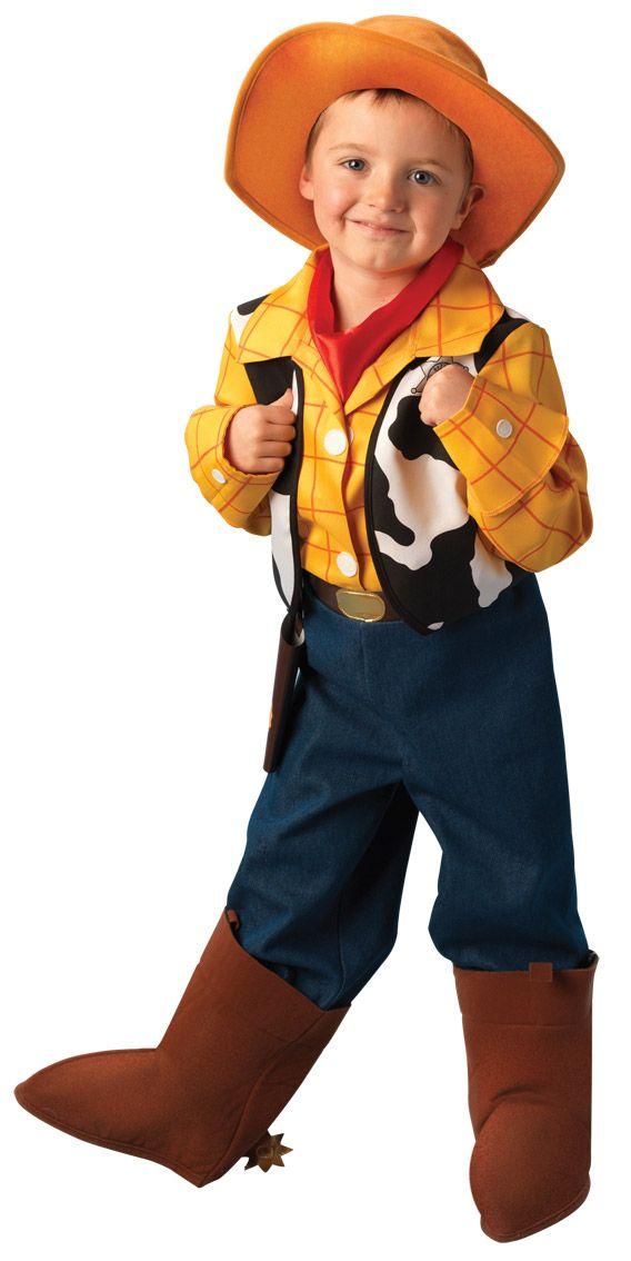 Disfraz de Woody de Disney Pixar™ para niño. Disponible en www.vegaoo.es