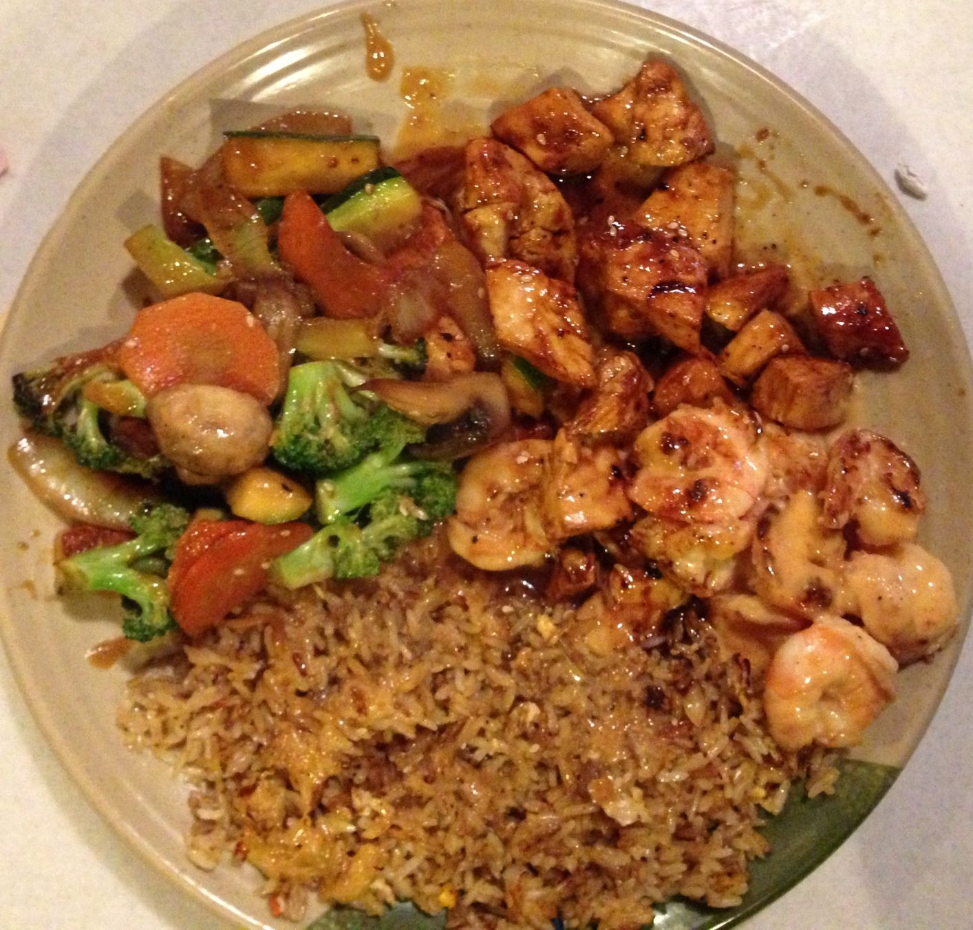 Chinese Food Chicken With Mixed Vegetables Calories