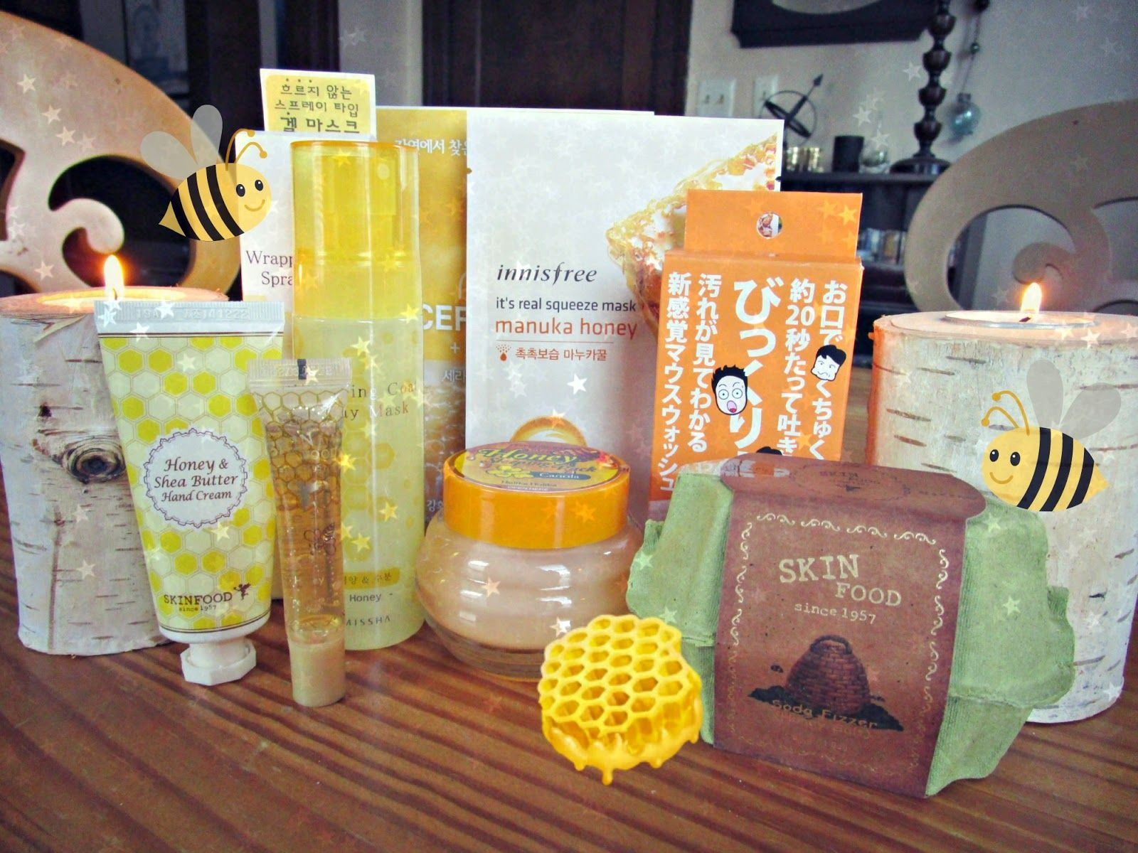 Harlot Beauty: #Beauteque Classics Blogger Series: Oh Honey! Beauty Bag with Harlot Beauty Review and #Giveaway! #kbeauty