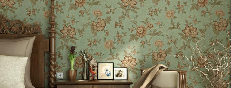 10 Best Selling Vintage Floral Wallpapers On Amazon Cozy Home 101 Vintage Floral Wallpapers Flat Decor Floral Wallpaper