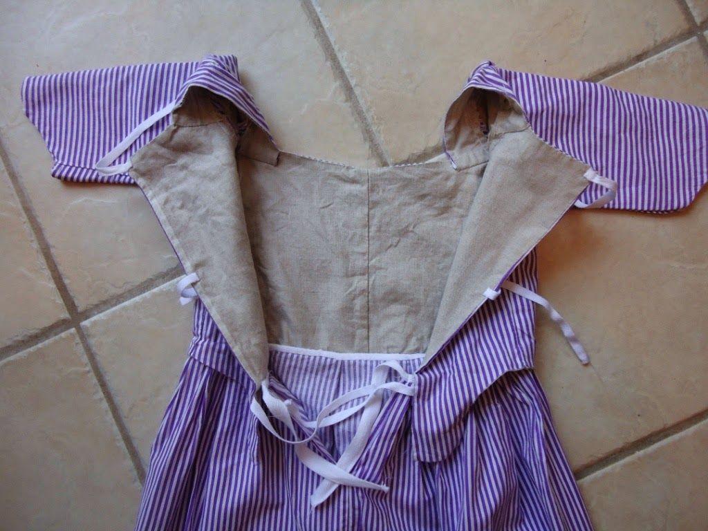 Sew 18th Century: Pretty Purple Gown | 18th Century Children\'s ...