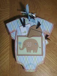 Onsie Baby Boy Custom Mini Album