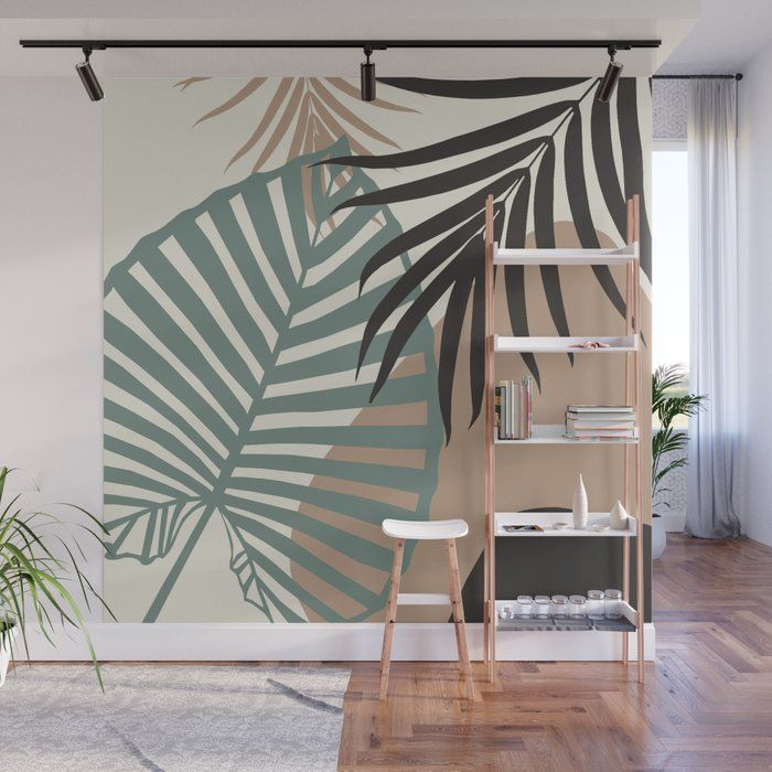 Minimal Jungle Leaves Finesse #1 #tropical #decor