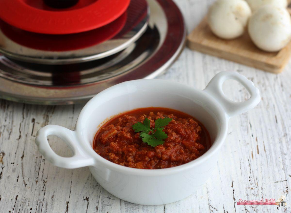 Ragù+di+carne+e+funghi+con+Magic+Cooker