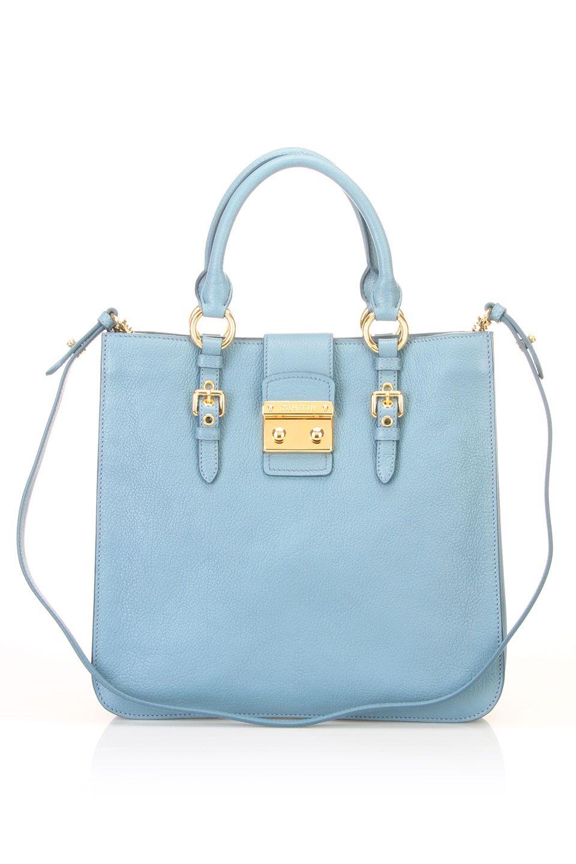 36980c0e1ce0d light blue by mui mui | beautiful bags | Bags, Online bags, Bags ...