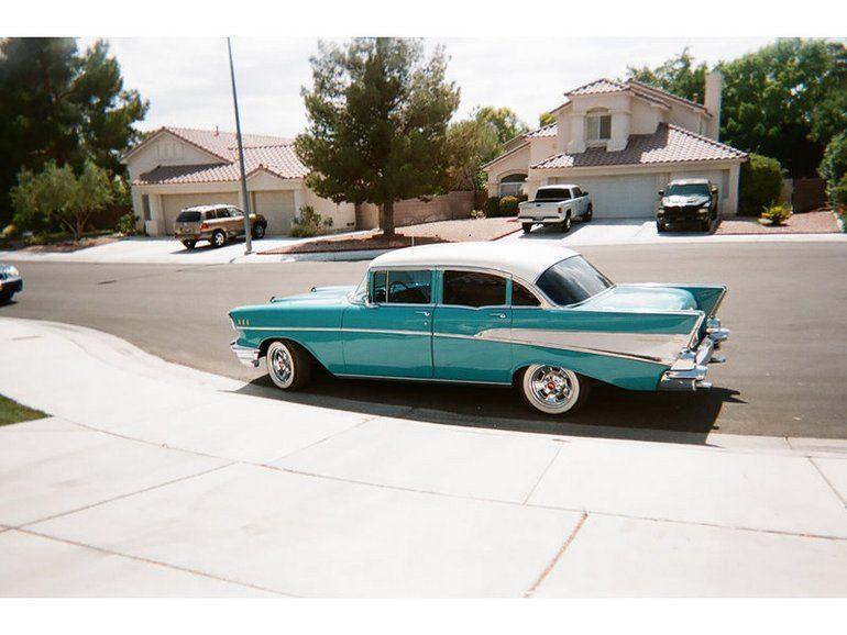 1957 Chevrolet Bel Air 4 Door W Post 1957 Chevy Bel Air 57 Chevy Bel Air Chevrolet Bel Air