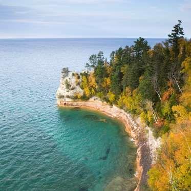 Pictured Rocks National Lakeshore, Michigan © Photo Walter Bibikow