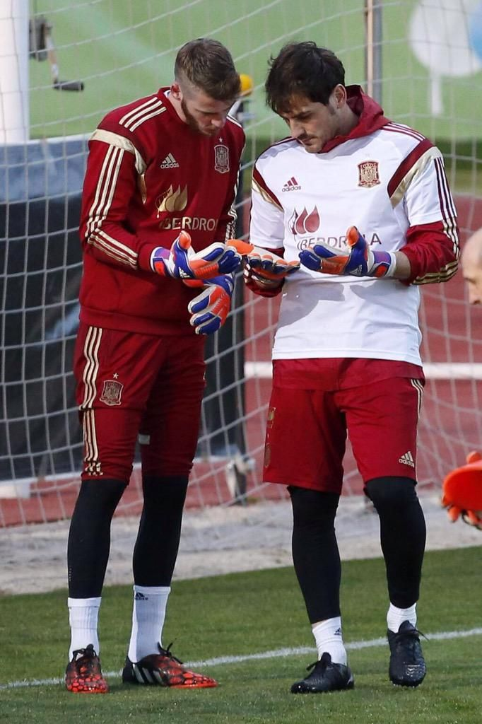 David de Gea & Iker Casillas