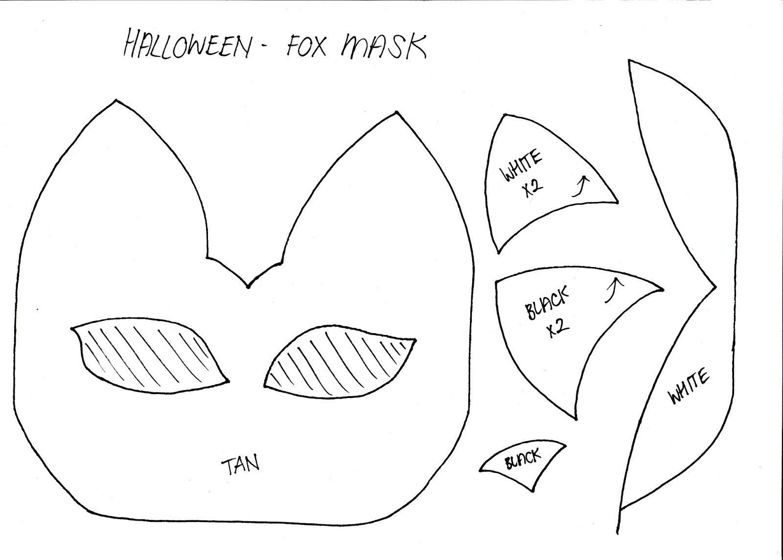 Halloween Mask Fox