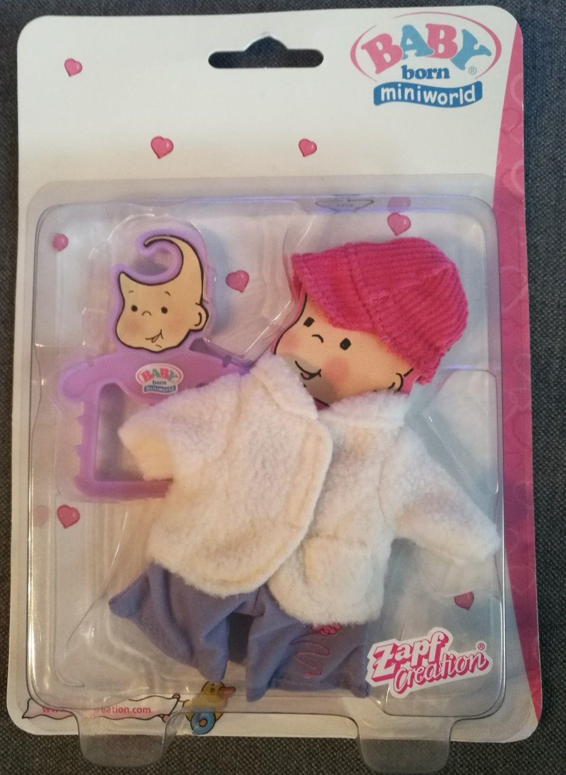 Baby Born Miniworld In Spielzeug Puppen Zubehor Babypuppen Zubehor Ebay Haakpatronen