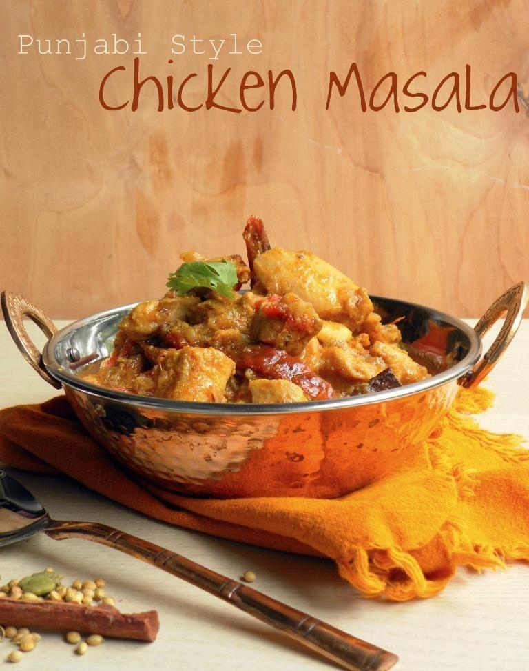 Chicken Recipes Punjabi Style Chicken Masala Chicken