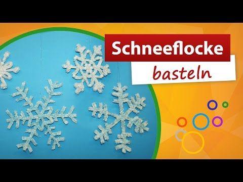 Weihnachtsdeko basteln funkelnde eiskristalle aus for Youtube weihnachtsdeko