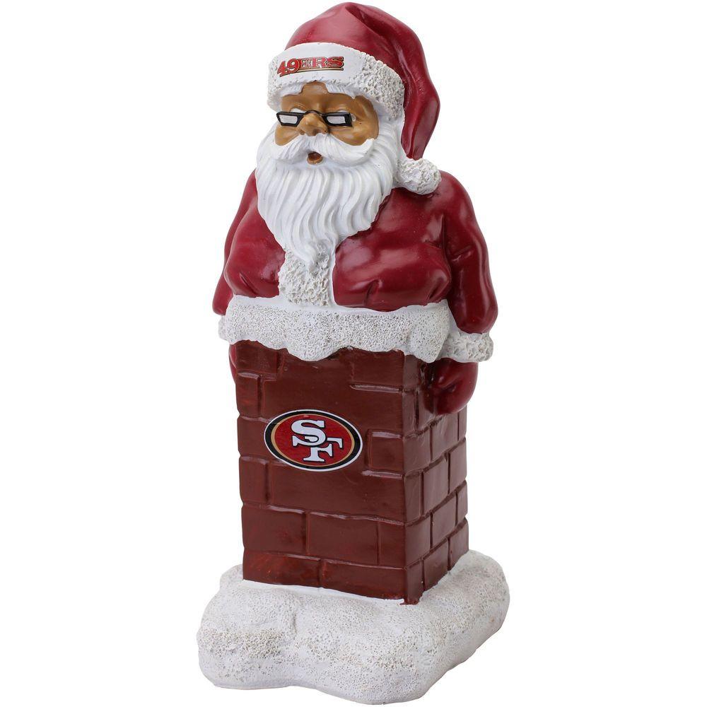 San Francisco 49ers Santa With Chimney Kansas city