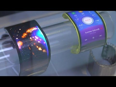 Watch more CNET News: http://bit.ly/1LGPOmk Lenovo shows off a new fully flexible, bendable screen technology at a press event in San Francisco. Lenovo tease...