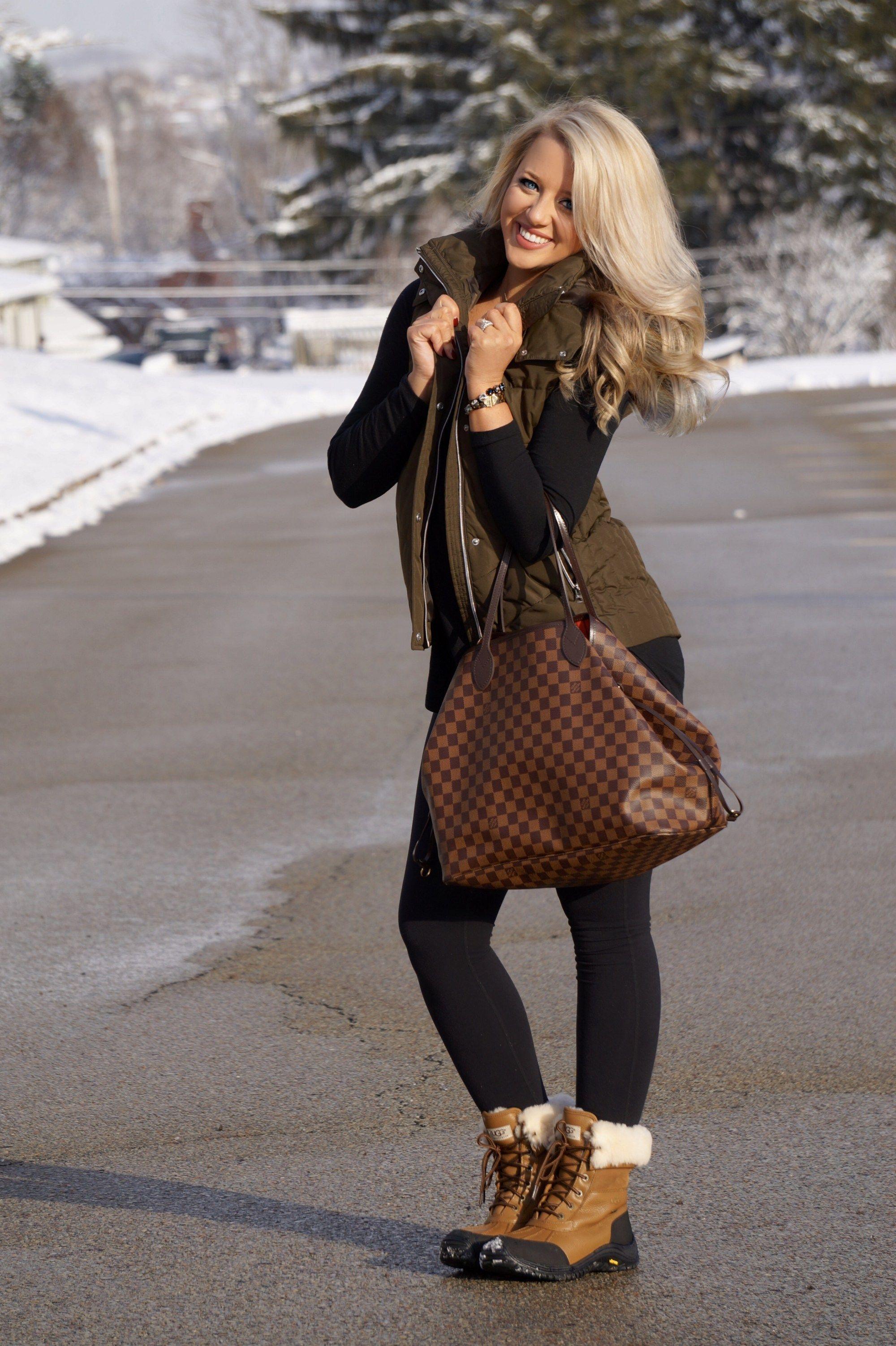 d9da7420112 Louis Vuitton Never Full GM, Ugg winter boots, winter fashion, links ...