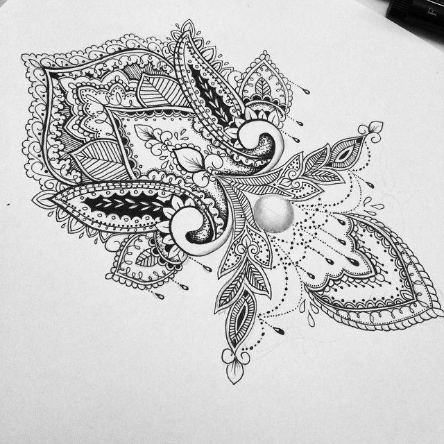 I want this  mandala design on my wrist.