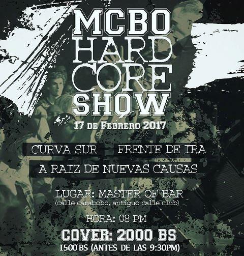 MCBO HardCore Show http://crestametalica.com/mcbo-hardcore-show/ vía @crestametalica