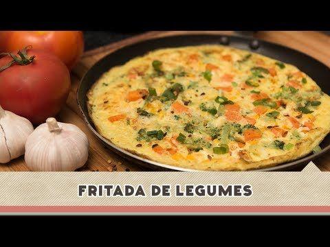Fritada de Legumes - Receitas de Minuto  EXPRESS #67