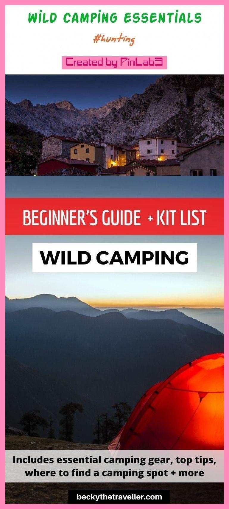 Wild camping essentials #camping #essentials wilde Camping ...