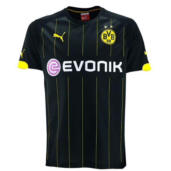 Borussia Dortmund 14 15 Away Soccer Jersey Borussia Dortmund